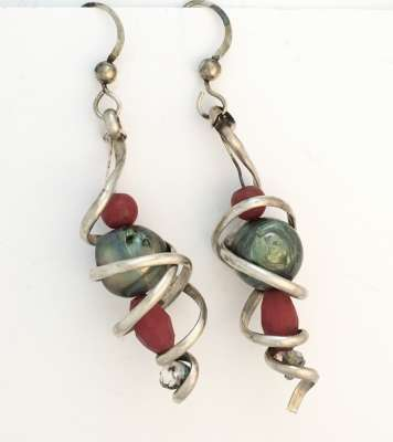 Red and Green and silver, $$45.0000